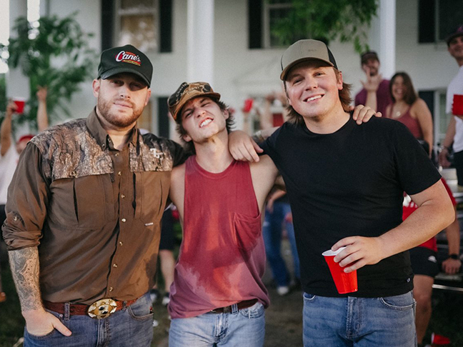 "Noah Hicks feat. Jon Langston & Travis Denning - ""Drinkin' In a College Town"""